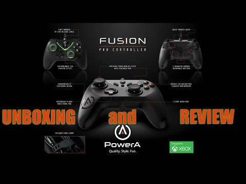 PowerA Fus1on Pro #XboxOne Controller Unboxing and Review
