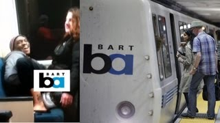 Amateur Porn Shot on Moving BART Train
