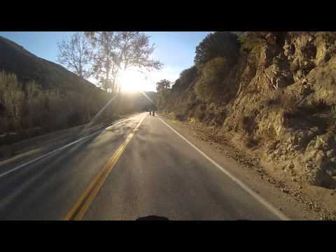 SoCalBikerRoads Santa Clarita Loop 3of4 C to D Lake Elizabet