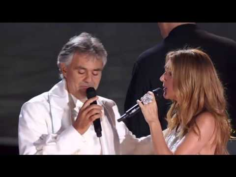 Andrea Bocelli & Celine Dion One Night in Central Park 15 Sept 2011)   The Prayer