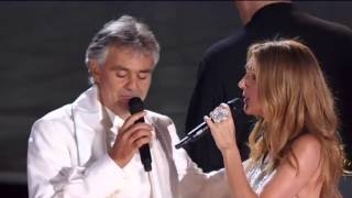 Andrea Bocelli & Celine Dion One Night in Central Park 15 Sept 2011)   The Prayer