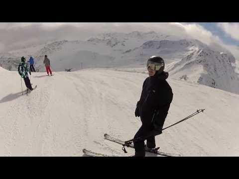 Snowboarding Arosa, Switzerland - Virtual Adventure!