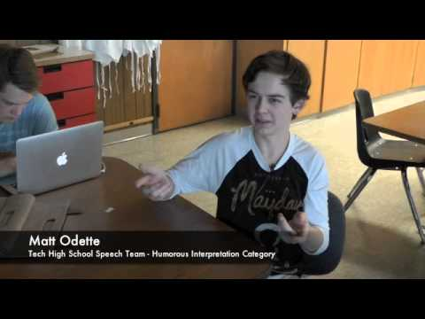Tech High School Speech Team Continuing Tradition of ...