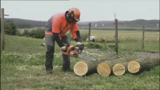 Benefits of Husqvarna TrioBrake™ Chainsaw Feature
