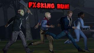 Killing plebs with Jason [Yelling Soundboard] - Gameplays