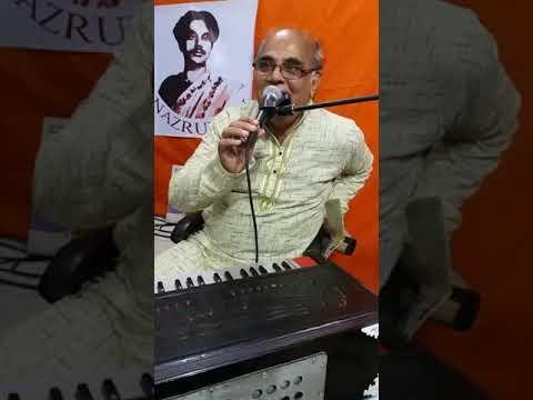 """Nadir Srote Malar Kusum"", a Nazrulgeeti performed Live by Sukanya Karmakar on Nazrul TV, Bangladesh"