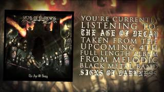 Signs of Darkness - The Age of Decay (Lyric Video)