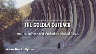 The Golden Outback, See The Outback And Australia's Whitest Beach