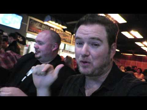 Eating BBQ With The Voice of Honest Trailers(Jon Bailey)!
