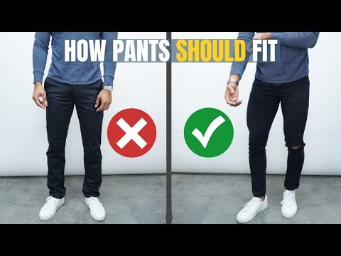 6 Tricks To Know If Your Pants Fit Properly
