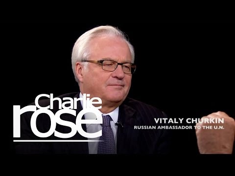 Vitaly Churkin on discrimination of homosexuals in Russia | Charlie Rose