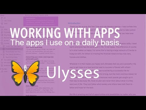 Working With Apps | Ep 06 | Ulysses