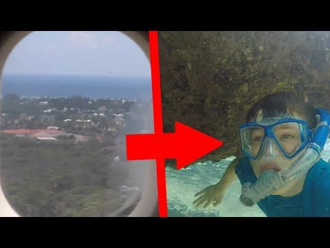 FLYING TO PARADISE/SNORKELING IN GRAND CAYMAN! (Cayman Islands Vlog 1)