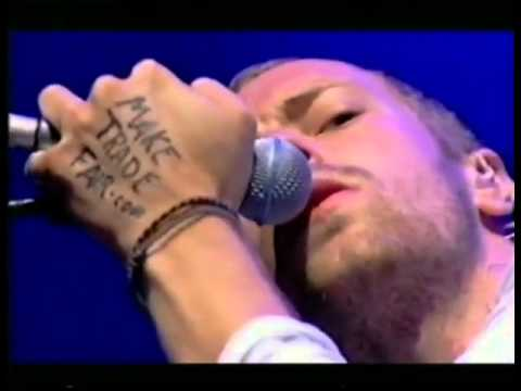 Coldplay - Clocks & Interview - T In The Park 2003
