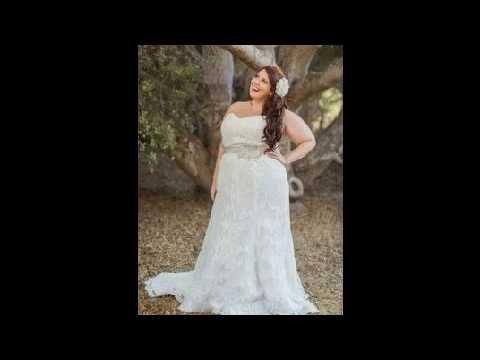 Vestidos de novia para gorditas con manga