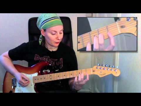 Beginners guitar lesson: How to play the D minor 7th chord (Dm7)