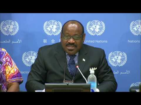 Comments by Mr. Anatolio Ndong Mba (Equatorial Guinea) - Press conference (14 August 2017)