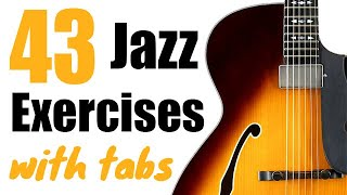 43 Jazz Guitar Licks - Lessons with Tab