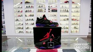 "UNBOXING: Air Jordan 4 ""Raptors"""