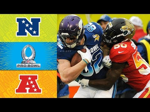 NFC vs. AFC | 2018 NFL Pro Bowl Game Highlights
