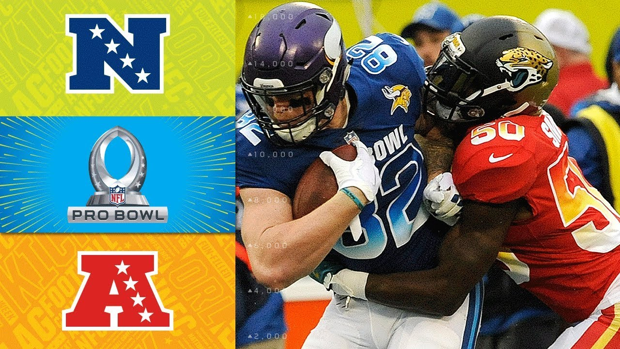 068b7f9ab79 NFC vs. AFC | 2018 NFL Pro Bowl Game Highlights - YouTube