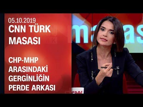 CHP-MHP arasındaki gerginliğinin kökeninde ne var? - CNN TÜRK Masası 06.10.2019