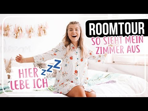 ROOMTOUR 2.O - MEIN ZIMMER in dem ich LEBE/SCHLAFE