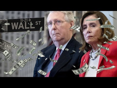 Nancy Pelosi and Mitch McConnell do Victory Dance Over Wall Street Corona Bailout