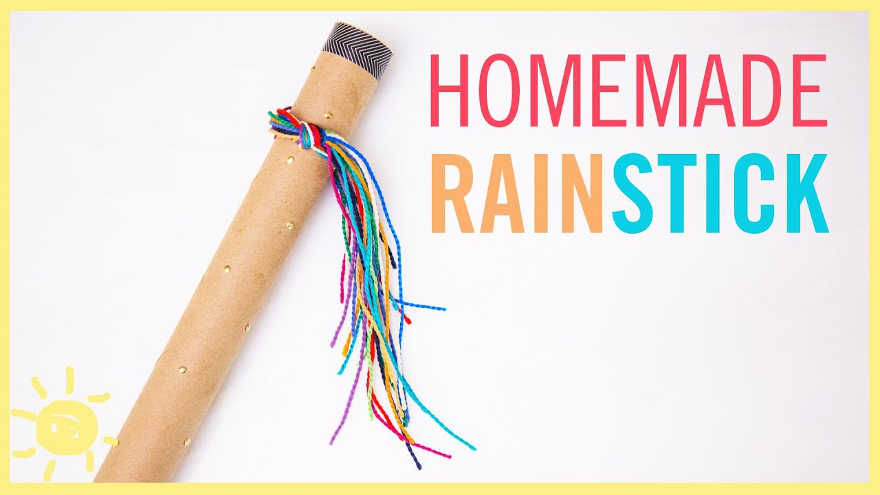 Diy rainstick fun kids craft youtube solutioingenieria Gallery