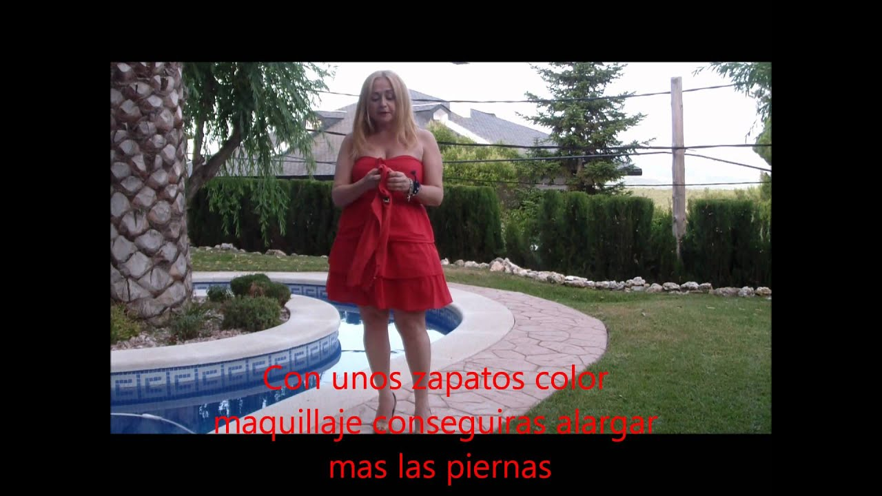 9ae8e9809 Como combinar y llevar un vestido rojo - YouTube