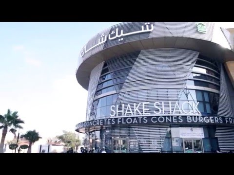 The world's biggest Shake Shack - now open in Riyadh!
