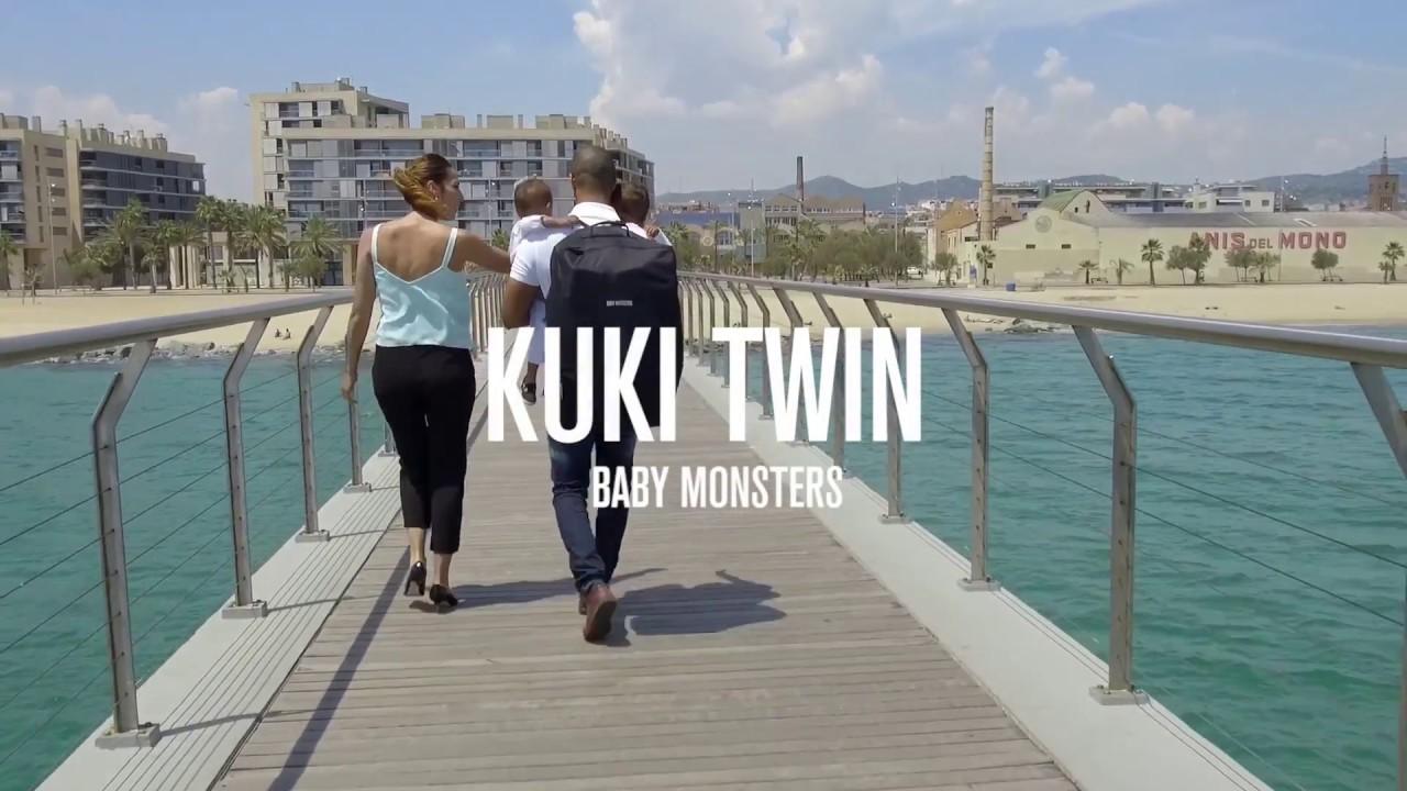 fc2996897 Silla De Paseo Gemelar Baby Monster Kuki Twin Con Pack Color - Babymania  España