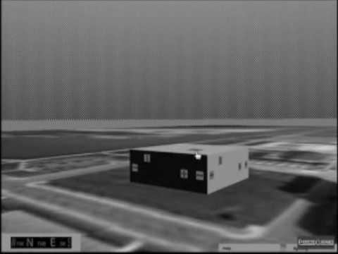 Heads Up Display in VRML for Kenosha, Wisconsin 3D Visualization