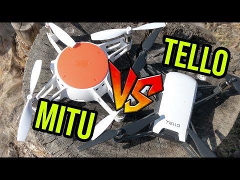 RYZE TELLO VS XIAOMI MITU DRONE en español
