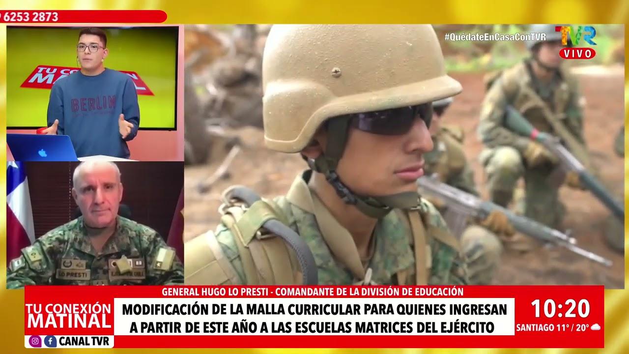 Entrevista al General Hugo Lo Presti en TVR Santiago