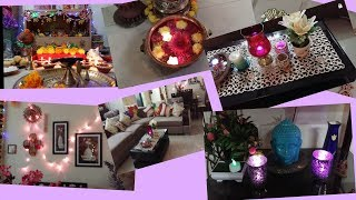 Diwali decor house tour/Divya vlogs/Indian vlogger/indian youtuber/diwali vlog