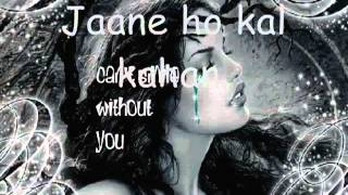 hum hain iss pal yahan lyrics   YouTube 2
