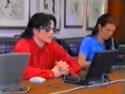 Michael Jackson in the chat room very funny
