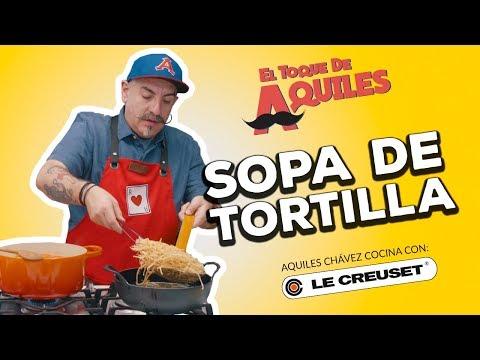 Sopa de Tortilla - El Toque de Aquiles