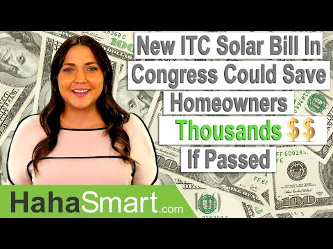 New ITC Tax Breaks for Solar on the Way?