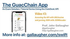 GuacChain - Part 3 - Accessing the CoinDesk API for Bitcoin Exchange Rates
