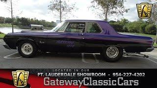 386-FTL 1964 Plymouth Savoy aka Hurricane Hemi