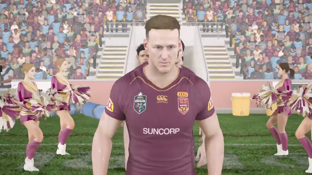 Queensland Maroons vs New South Wales ...