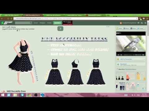 Pmx Editor Adding Clothes Youtube
