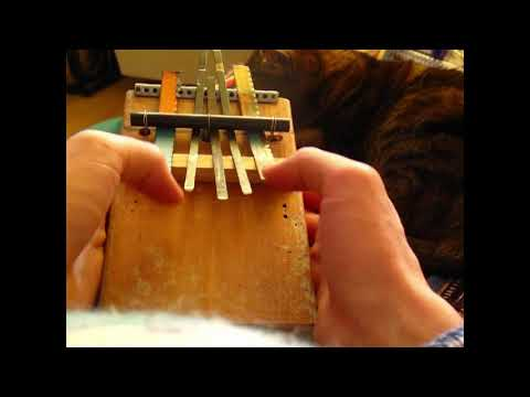 Trash Kalimba D.I.Y. musical instrument