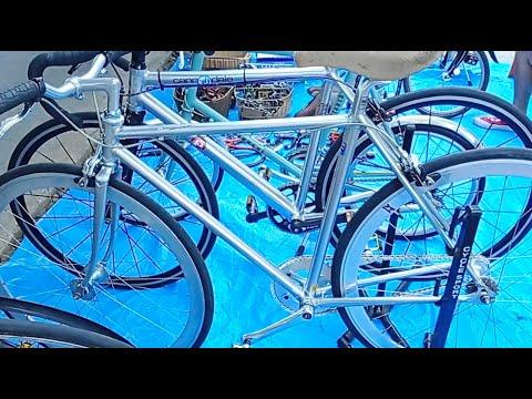 จักรยาน ฟิกเกียร์ วินเทจ Cannondale แฮนเมด US / Bianchi วินเทจ หมื่นนิดๆ ตลาดนัดจักรยาน ToT