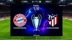 PES 2020 - Bayern Munich vs Atletico Madrid - 1/4 Final UEFA Champions League - Gameplay PC