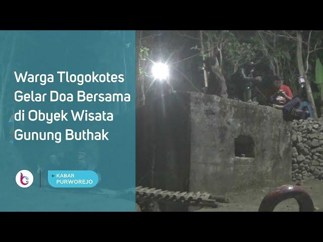 Warga Tlogokotes Gelar Doa Bersama di Obyek Wisata Gunung Buthak