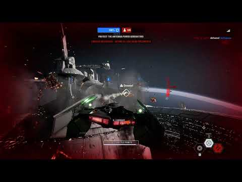 Star Wars  Battlefront II - 1st Star Fighter Assault Game with Flowingbass and Gellogee |