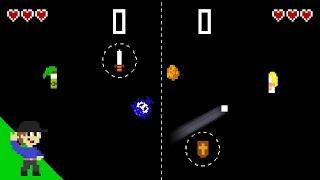If Pong had Zelda physics